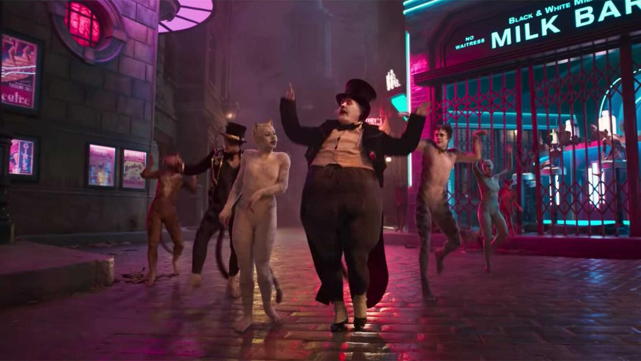 The Cats in the 'Cats' Movie Drink Champagne, Specifically Pipurr-Heidsieck