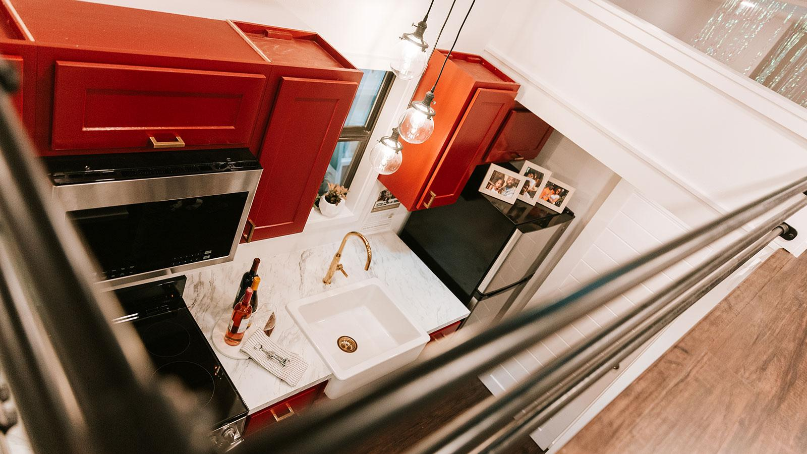 Inside the Inniss family tiny home
