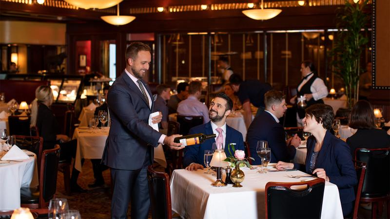 Image for the article titled:2019's Best Restaurants for Wine
