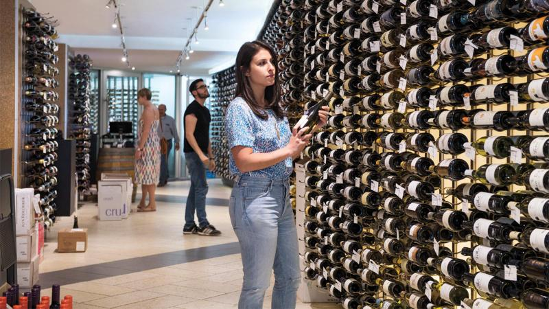 The World's Wines in the City's Shops