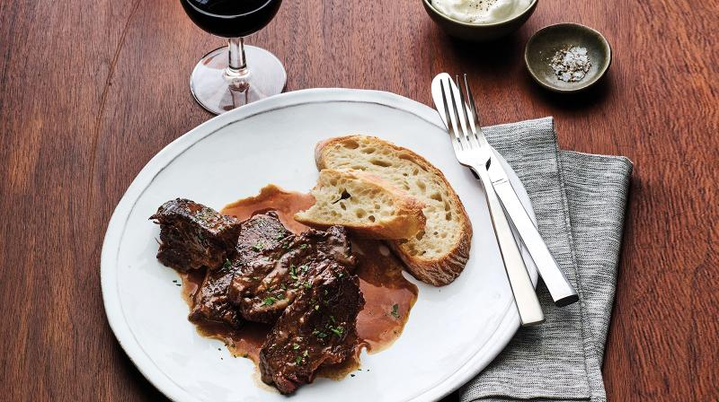 Braised Short Ribs With Napa Cabernet