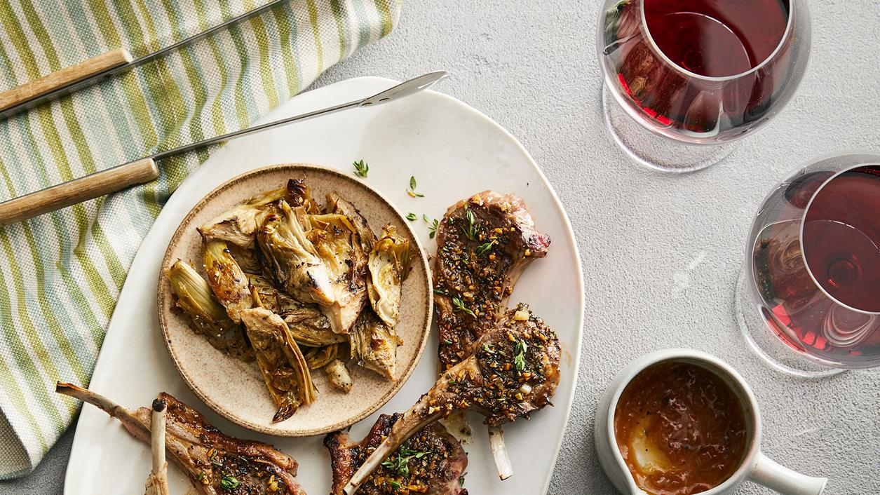 Lamb Chops With Barbaresco