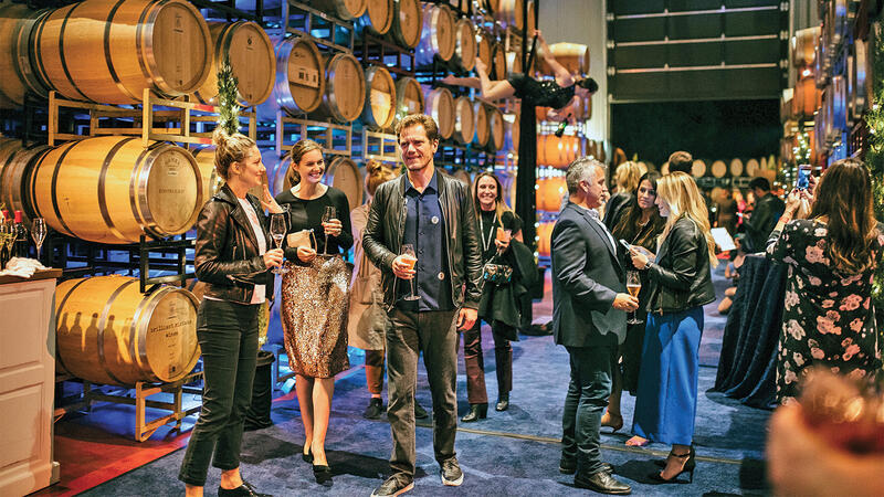 Wine and a Movie at Napa Valley Film Festival; Dom Pérignon Champagne Salon at Blantyre; Waterman Poolside Bar at Windsor Court Hotel