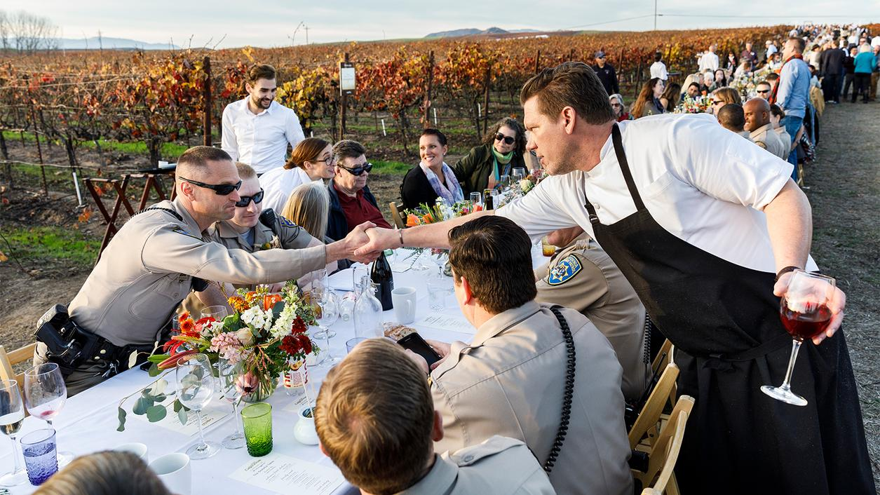 Chef Commemorates Wine-Country Fires in Film and Food