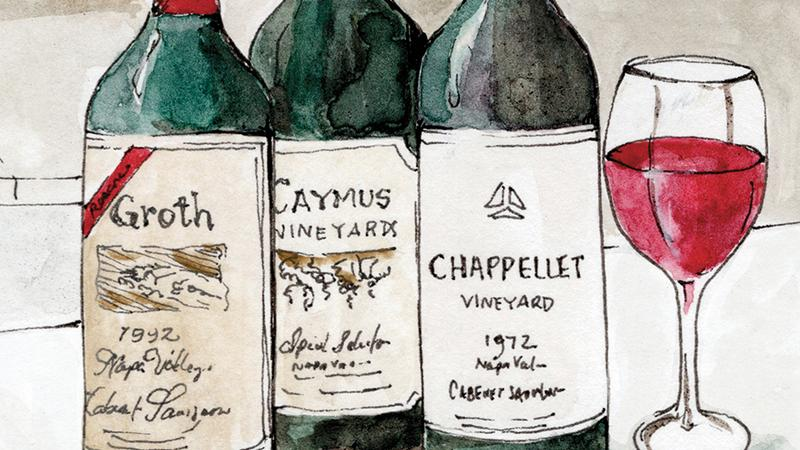 California Cabernet, Then and Now