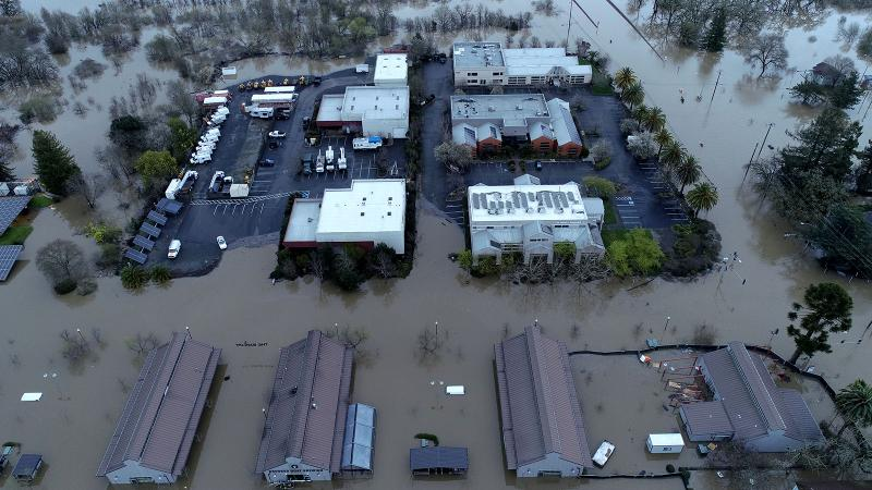 Flooding Hits Sonoma Wineries