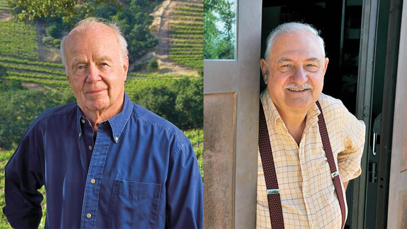 In Memoriam: John Shafer; Gianfranco Soldera