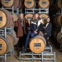 From left: Penley owner Ang Tolley, winemaker Kate Goodman and owner Bec Tolley. The winery released an outstanding Cabernet from Coonawarra.