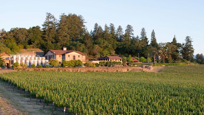 The Flora Springs Estate and Winery in St. Helena in Napa.