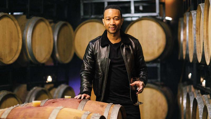 John Legend's 'Perfect Mix' in Wine