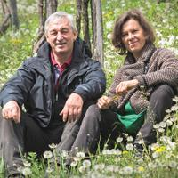 Winemakers Sepp and Maria Muster