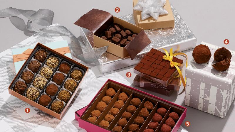 Holiday gifts for the chocolate obsessive.