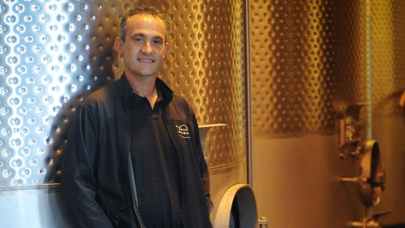 Laurent Gruet, winemaker at New Mexico's Gruet Winery.
