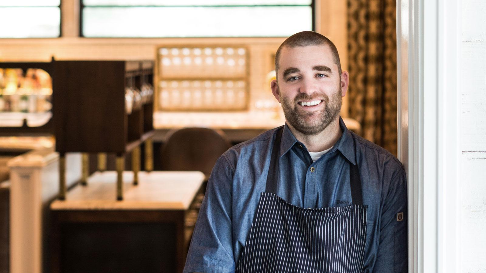 Portrait of chef Bobby Matos