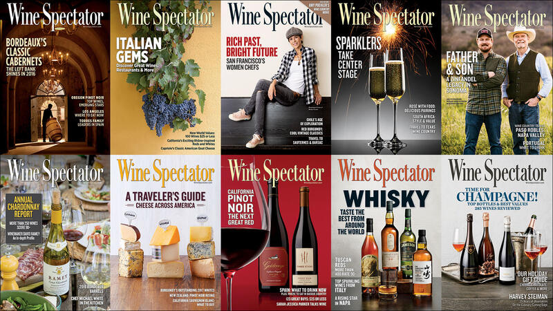 Wine Spectator's 2019 Issues