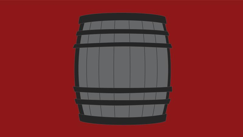 If a wine is aged in 55 percent new French oak, what is the other 45 percent?