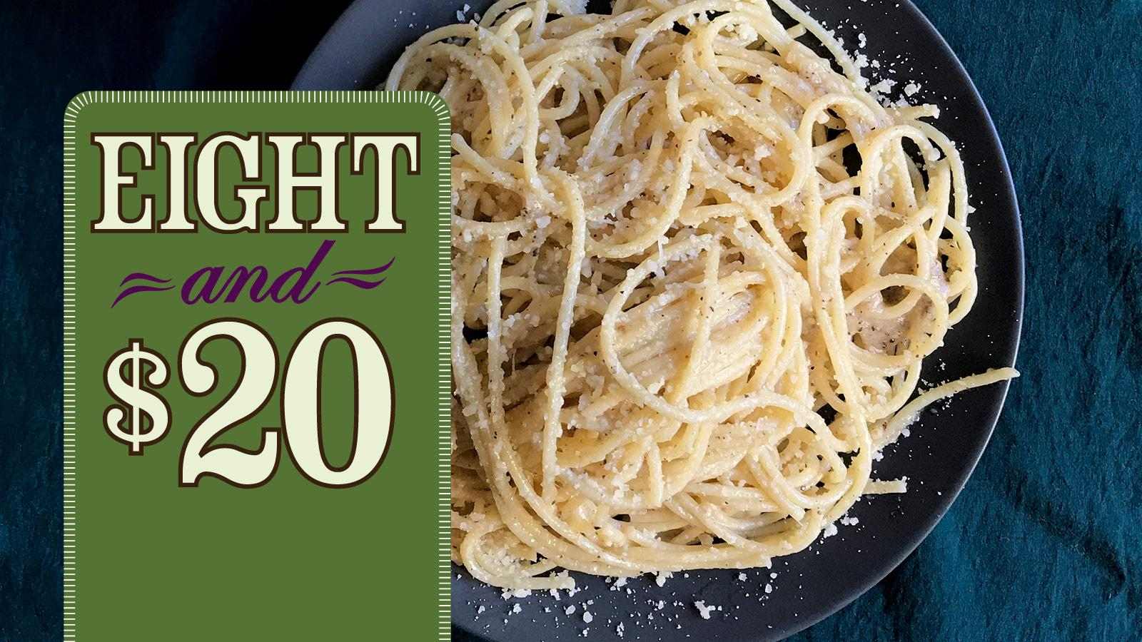 Recipe: Cacio e Pepe and Chianti