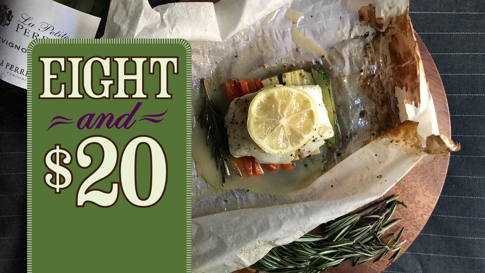 Recipe: Cod en Papillote with a Zesty White
